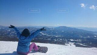 晴れ,スキー場,スノーボード,ウインタースポーツ
