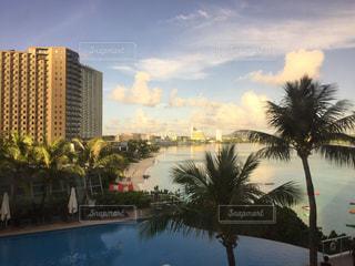 風景,夕暮れ,景色,街,ハワイ,リゾート