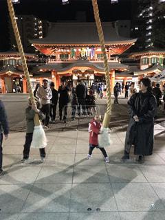 2019年三が日.毎年恒例のお参り!の写真・画像素材[1727582]