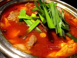 肉と野菜のスープの写真・画像素材[1733393]