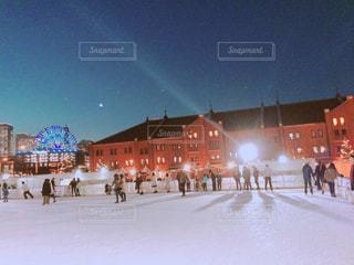 冬,夜,スポーツ,イルミネーション,ライトアップ,横浜,デート,スケート,ウインタースポーツ