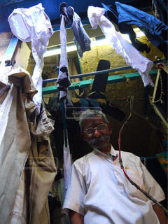 男性,景色,鮮やか,人物,人,Tシャツ,新鮮,インド,洗濯,クリーニング