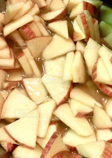りんごジャムの調理中の写真・画像素材[1764271]