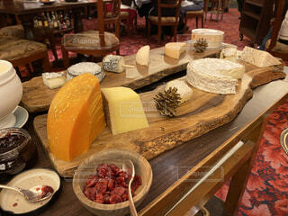 チーズワゴンの写真・画像素材[3973566]