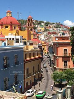 建物,カラフル,旅行,街並,海外旅行,メキシコ,グアナファト