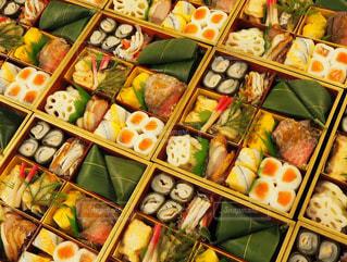 料理の種類でいっぱいのボックスの写真・画像素材[1731767]