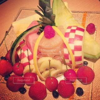 食べ物,冬,フルーツ,果物,メロン,果実,チェリー,イチゴ