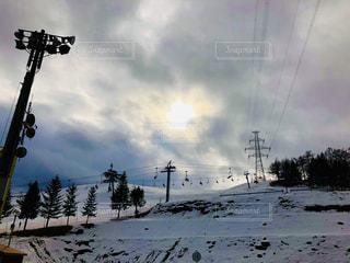 雪景色の写真・画像素材[1736021]