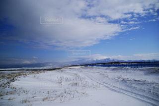 冬の知床の写真・画像素材[1737414]