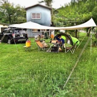 おしゃれキャンプの写真・画像素材[11241]