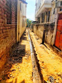 インドの路地裏の写真・画像素材[1739956]