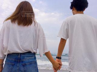 恋と海の写真・画像素材[2483721]