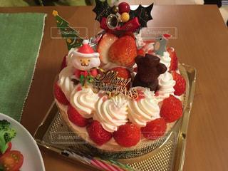 クリスマスケーキの写真・画像素材[1743237]