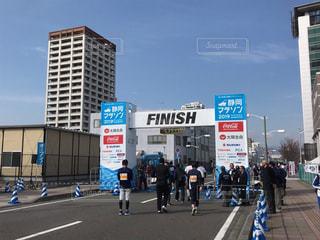 静岡マラソンゴール地点の写真・画像素材[1809066]
