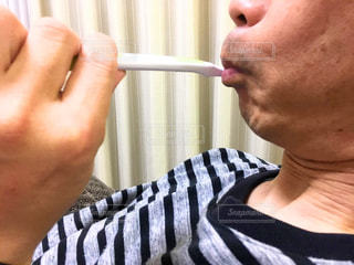 歯磨きの写真・画像素材[1879860]