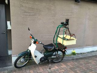 出前用のバイクの写真・画像素材[1988405]