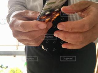 薬の数を数えるの写真・画像素材[2037713]