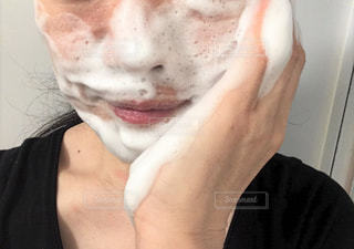 洗顔2の写真・画像素材[2075574]
