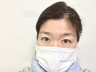 マスクをした女性の写真・画像素材[2167674]