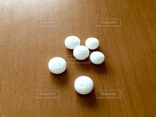 白い錠剤の写真・画像素材[2287323]