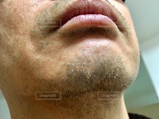 あご髭・白髪の写真・画像素材[2819375]
