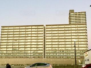 大きなマンションの写真・画像素材[2859619]