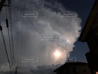 雲の中の雷の写真・画像素材[1751267]