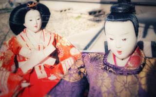 お内裏様とお雛様の写真・画像素材[1814135]