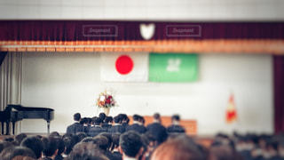 卒業式の写真・画像素材[1823583]