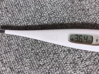 体温計の写真・画像素材[1845657]