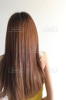 無加工の髪の写真の写真・画像素材[1800507]