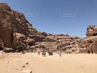 ヨルダン~ペトラ遺跡の写真・画像素材[1739789]