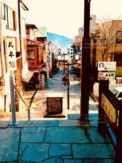 伊香保温泉の路地の写真・画像素材[1780158]