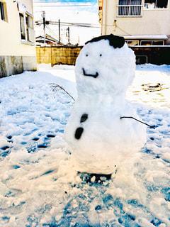雪だるまの写真・画像素材[1782520]