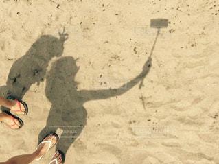 浜辺で撮影の写真・画像素材[1787467]