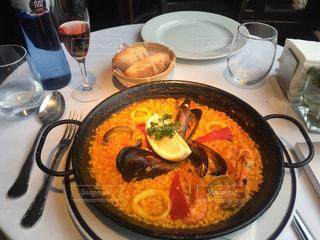 スペイン料理 パエリヤの写真・画像素材[1741016]