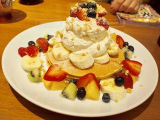 フルーツパンケーキの写真・画像素材[1744350]