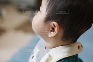 赤ちゃんの横顔の写真・画像素材[1770818]