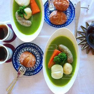 菜花のスープのポトフの写真・画像素材[1787497]