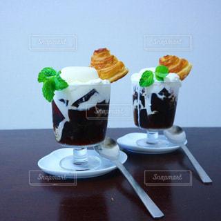 手作りコーヒーゼリーの写真・画像素材[2278661]