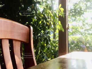 カフェの店内の写真・画像素材[2415295]