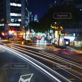 夜の渋谷の写真・画像素材[1744383]
