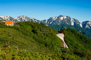 種池山荘と剱立山の写真・画像素材[1749175]