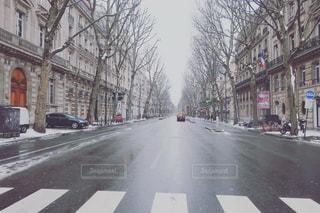 冬 の パリの写真・画像素材[1745749]