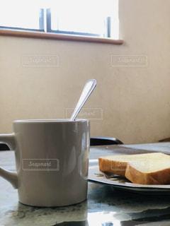 朝の優雅なひととき。の写真・画像素材[1747855]