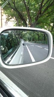 鏡の中の風景の写真・画像素材[1224561]