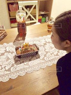 サプライズケーキの写真・画像素材[1754269]