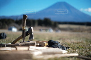 Camp tool キャンプツールの写真・画像素材[4160924]