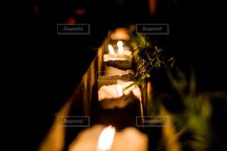 キャンドルナイトの写真・画像素材[710996]
