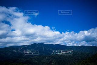 背景の大きな山のビュー - No.814166